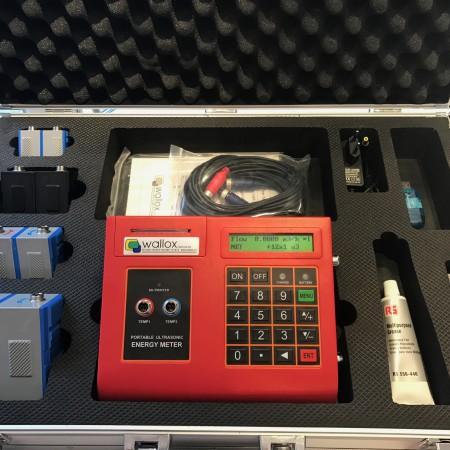 Portabel Energi och flödesmätare LRF 2000PW